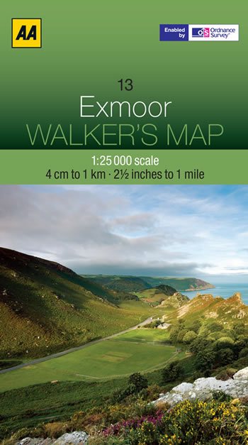 Exmoor Map Cover