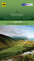 Exmoor 1:25000 Map