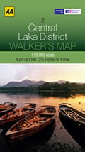Lake District 1:25,000 mountain biking map
