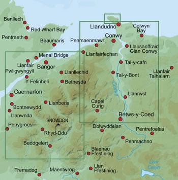 Snowdon 1:25000 Map