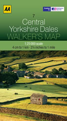 Yorkshire Dales 1:25000 Map
