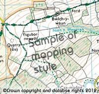 Exmoor Walkers Map 1:25000 Walkers Map (Ordnance Survey)
