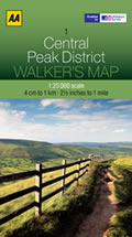 Peak District 1:25,000 MTB Map