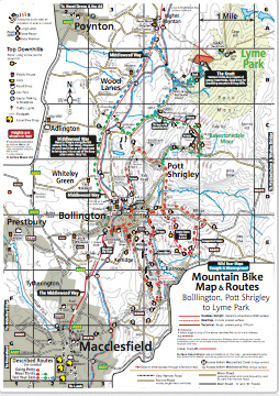 Mountain Bike Map