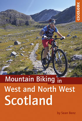 Mountain biking in West and North West Scotland, guide book of mtb routes