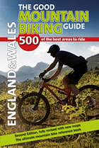 The Good Mountain Biking Guide front cover