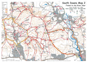 South Downs MTB Map 2