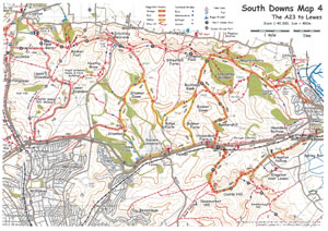 South Downs MTB Map 4