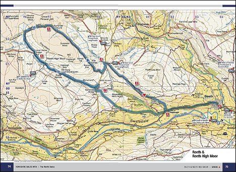 North Yorkshire Dales MTB Map Page