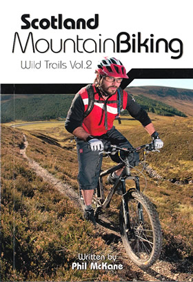 Mountain biking in Southern and Central Scotland, book of mtb routes