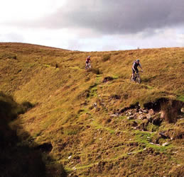 Wales mountain bike route photo 2