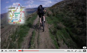 peak district mountain bike routes video